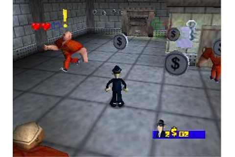 Blues Brothers 2000 Nintendo 64 Game