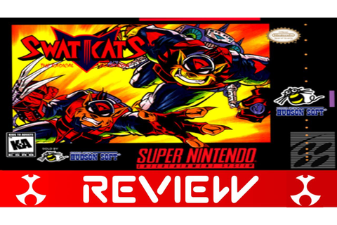 SWAT Kats: The Radical Squadron [Super Nintendo] Review ...