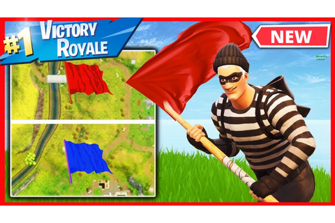 Epic Added A CAPTURE THE FLAG Game Mode To Fortnite ...