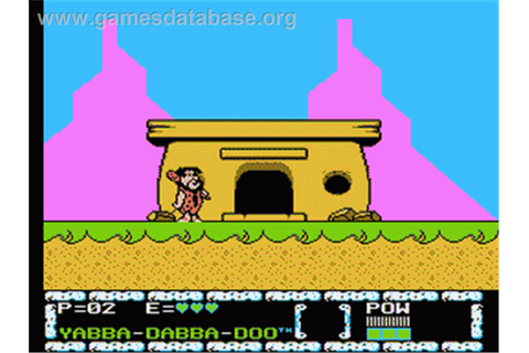 Flintstones: The Surprise at Dinosaur Peak - Nintendo NES ...