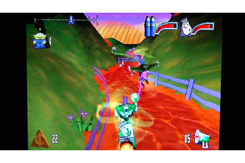 PS1 Games Revisited - Buzz Lightyear of Star Command Part ...