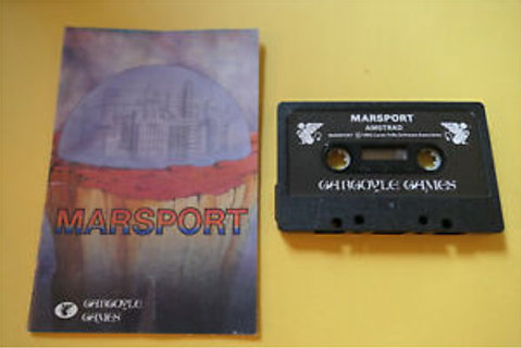 Amstrad cpc 464 game-marsport-gargoyle games | eBay