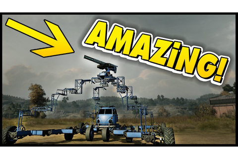 Crossout - MOST RIDICULOUS Build Ever! This Thing Is ...