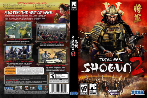 Shogun 2 Total War | Dvd Covers and Labels
