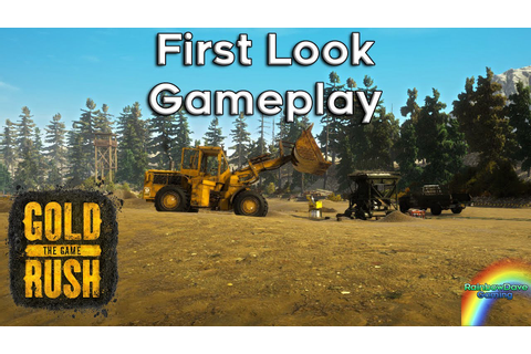NEW MINING GAME | Gold Rush - The Game! - YouTube