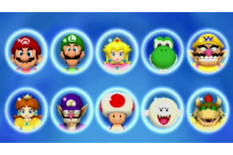 Mario Party 5 - All Characters - YouTube