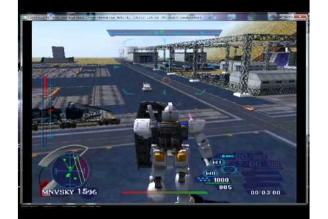 Mobile Suit Gundam Journey to Jaburo gameplay ps2 - YouTube