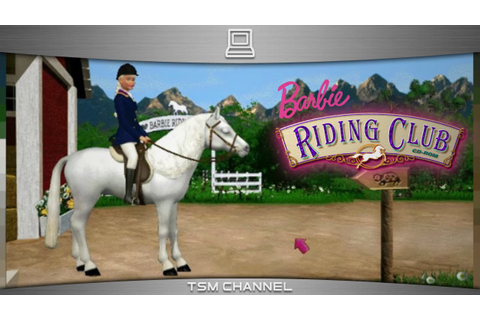 Barbie Riding Club (part 3) (Horse Game) - YouTube