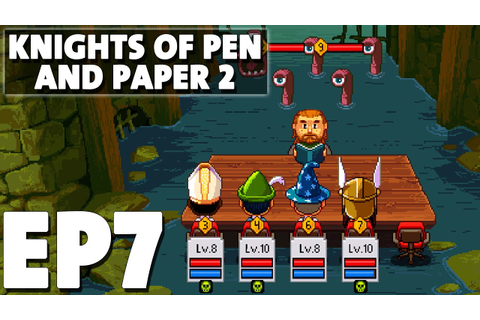 Let's Play Knights of Pen and Paper 2 Episode 7 - Zeroth ...