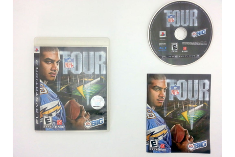NFL Tour game for Sony Playstation 3 PS3 -Complete ...