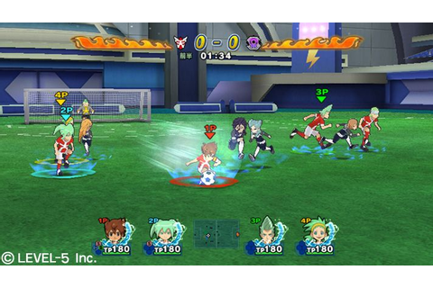 Game-Wii Inazuma Eleven Go Strikers 2013 | anime--action ...