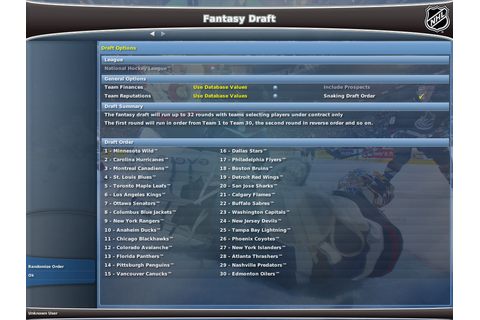 NHL Eastside Hockey Manager 2007 PC Galleries | GameWatcher