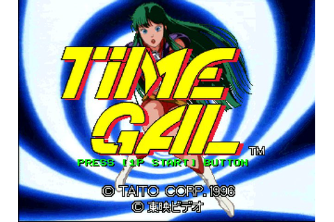 Time Gal & Ninja Hayate (1996) by Taito PS game