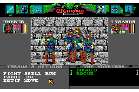 Wizardry: Bane of the Cosmic Forge (1990 - DOS). Ссылки ...