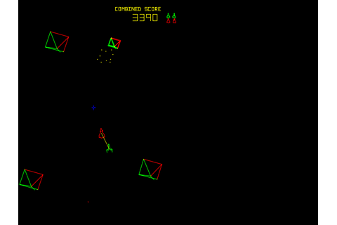 Space Duel - Videogame by Atari