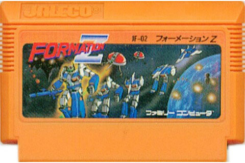 Formation Z (Cart Only) from Jaleco - Famicom