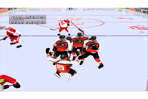 NHL 97 PS1 Gameplay HD - YouTube