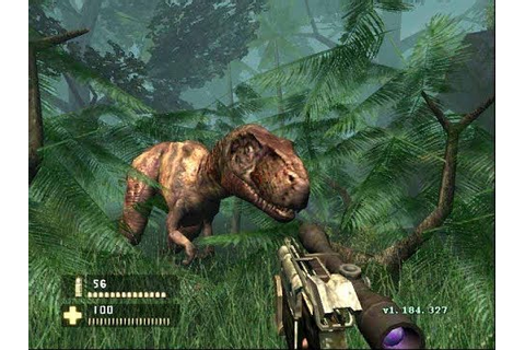 Turok Evolution PS2 jogo com Dinossauros - YouTube