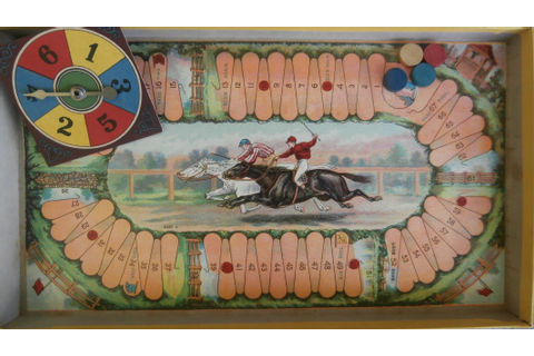 Milton Bradley's Game of Steeple Chase – All About Fun and ...