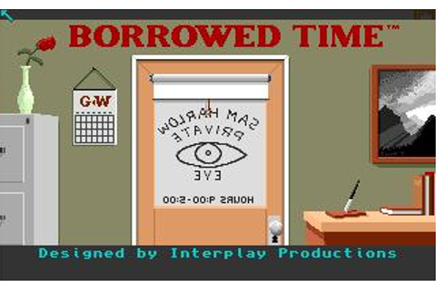 Borrowed Time Download (1986 Amiga Game)