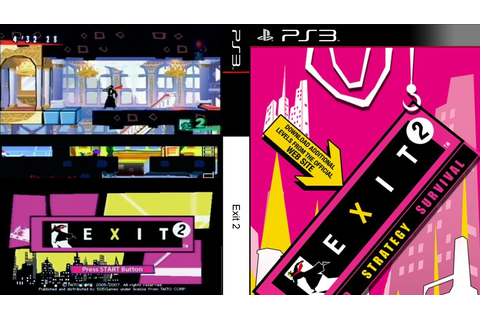 GAMES & GAMERS: EXIT 2 PS3/PSP DOWNLOAD