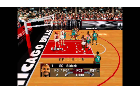 NBA In The Zone 99 ... (PS1) 60fps - YouTube