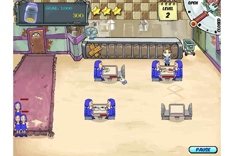 Diner Dash 1 Game - Free Download Full Version For PC