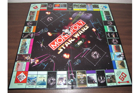 MONOPOLY STAR WARS Board Game Part: GAMEBOARD ONLY Limited ...