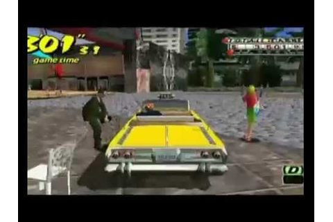 Crazy Taxi Fare Wars PSP Trailer & Game Download - YouTube