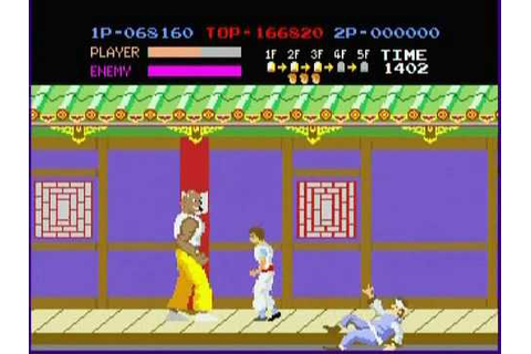 Retro Games - Kung Fu Master - YouTube