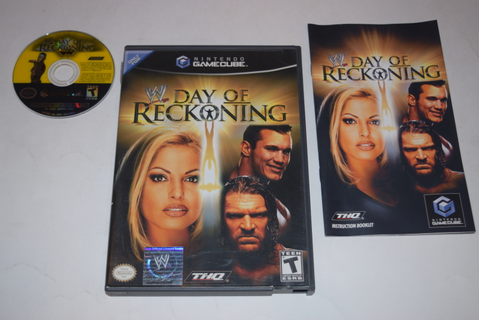 WWE Day of Reckoning Nintendo GameCube Video Game Complete ...
