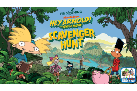Hey Arnold! The Jungle Movie: Scavenger Hunt - Find What ...