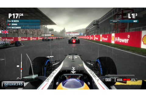 F1 2012 Video Game Gameplay (PC HD) - YouTube