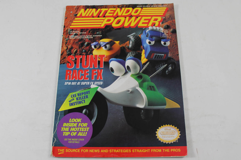 Nintendo Power Stunt Race Fx Volume 63