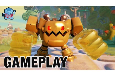 Skylanders Trap Team JAWBREAKER Gameplay Preview - YouTube