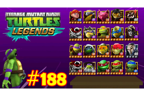 Teenage Mutant Ninja Turtles Legends - Part 188 - YouTube