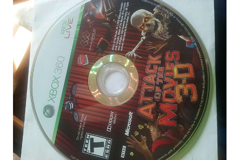 letgo - attack of the movies 3d xbox 360 game in Shiloh, PA