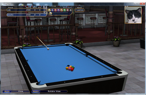 Free Download PC Games and Software: Virtual Pool 4 Game