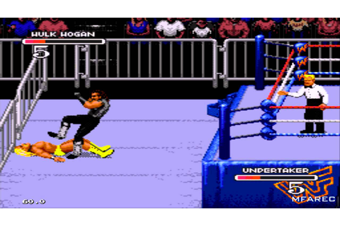 WWF Royal Rumble (1993)- Sega Genesis\Mega Drive Game ...