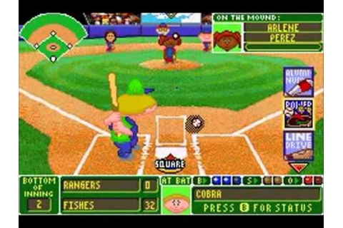 Backyard Baseball (GBA) - World Series Game 2 - YouTube