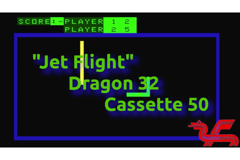 Jet Flight (Dragon 32 Cassette 50 Game 30 - 1983 & 1984 ...