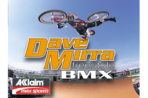 Download Dave Mirra Freestyle BMX Game For PC
