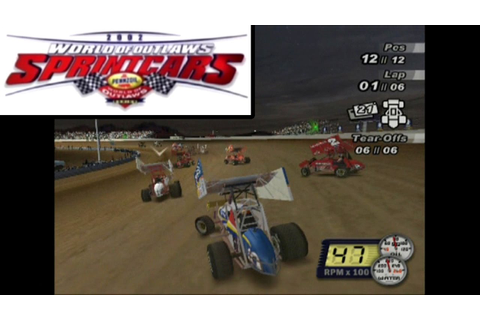 World of Outlaws: Sprint Cars 2002 ... (PS2) - YouTube