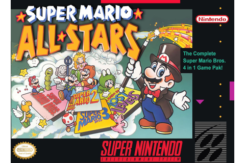 Super Mario All-Stars Super Nintendo Game