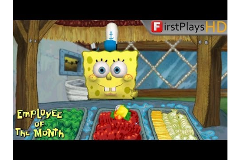 SpongeBob SquarePants: Employee of the Month - PC Gameplay ...