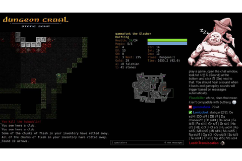 Dungeon Crawl Stone Soup With Game Sounds! - Halfling ...