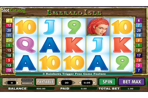 Review of Emerald Isle (Flash) (Video Slot from NextGen ...