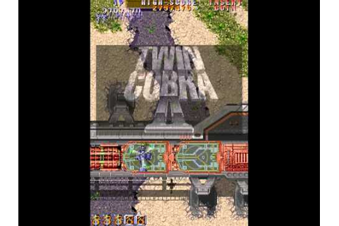 Arcade Longplay [228] Twin Cobra II - YouTube