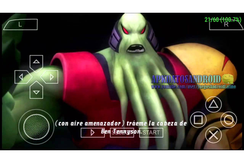 ben 10 alien force vilgax attacks para android [ppsspp ...