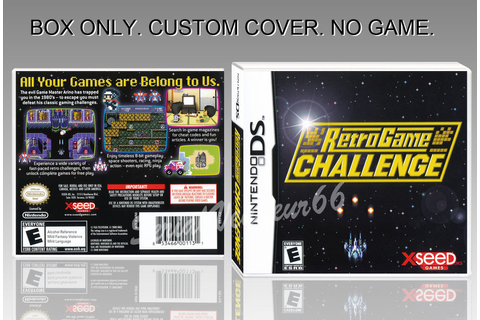NINTENDO DS : RETRO GAME CHALLENGE. ENGLISH. COVER ...